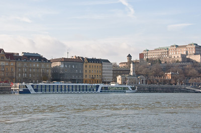 There's the Amalegro on the Buda side of the Danube!