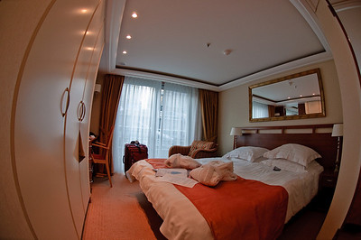 Here it is - fisheye view of room 204.