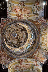 The dome of the church.