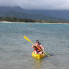 12/23 - Morgan paddling Kailua Bay