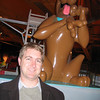 Brian with Scooby