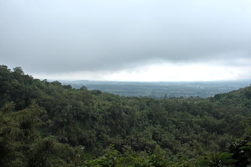 View at 6,200 feet. We kept climbing.