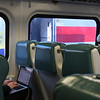 "The start of my ""field day"", hopped on the train in Dover Plains and these two were in the same section--on left, a lady was on her laptop within a minute."