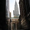 Chrysler Building, above Grand Central Station, my first photo outside.