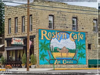 Deception Falls and Roslyn WA