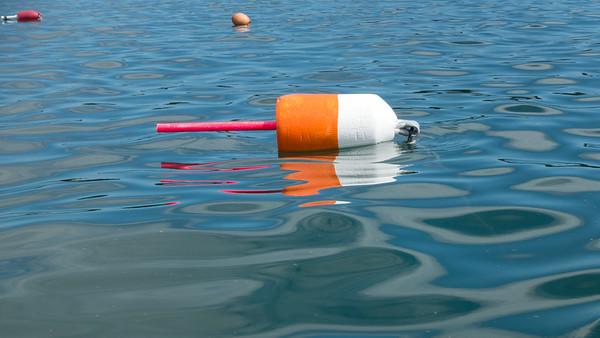 20150723.  Lobster buoy, Deer Isle, ME.