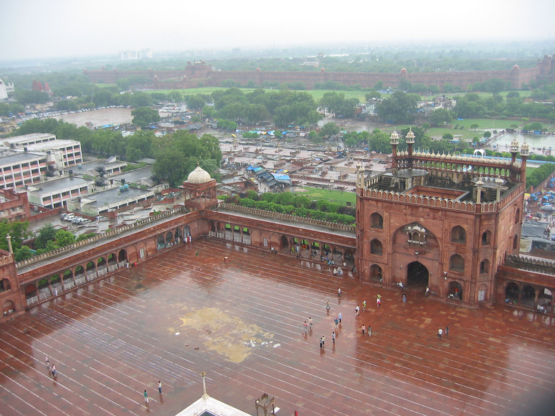 Jama Masjid Mosque (from tower)