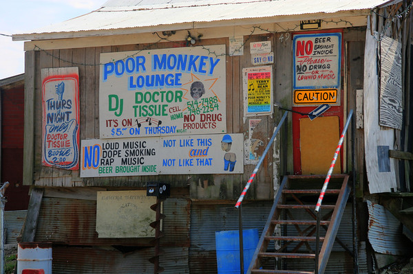 Poor Monkeys. Hard to find, worth the drive. Not like this and not like that.