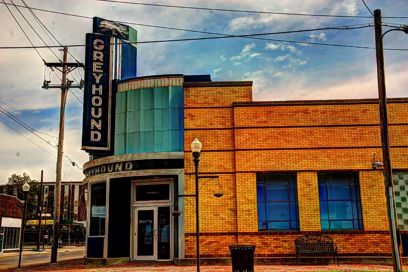 Greyhound Bus stop, Clarksdale Mississippi