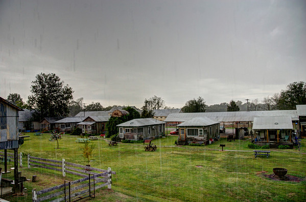 Delta Storm. Shackup Inn, Clarksdale Mississippi