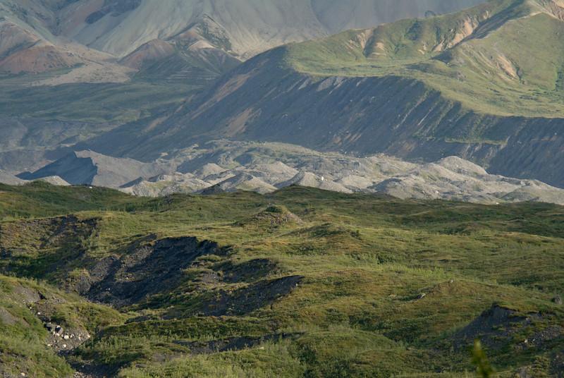 Glacial etched landscape.