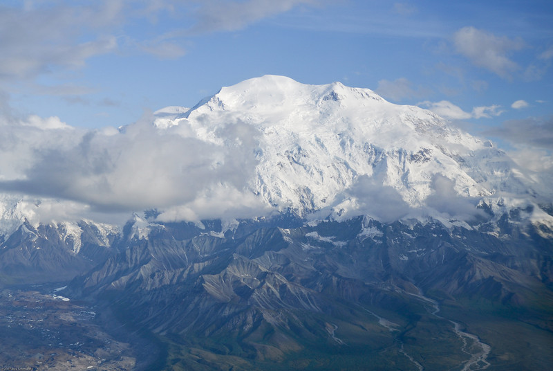 Mount Denali from 11,000 ft.