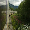 Alaska Rail back to Anchorage.