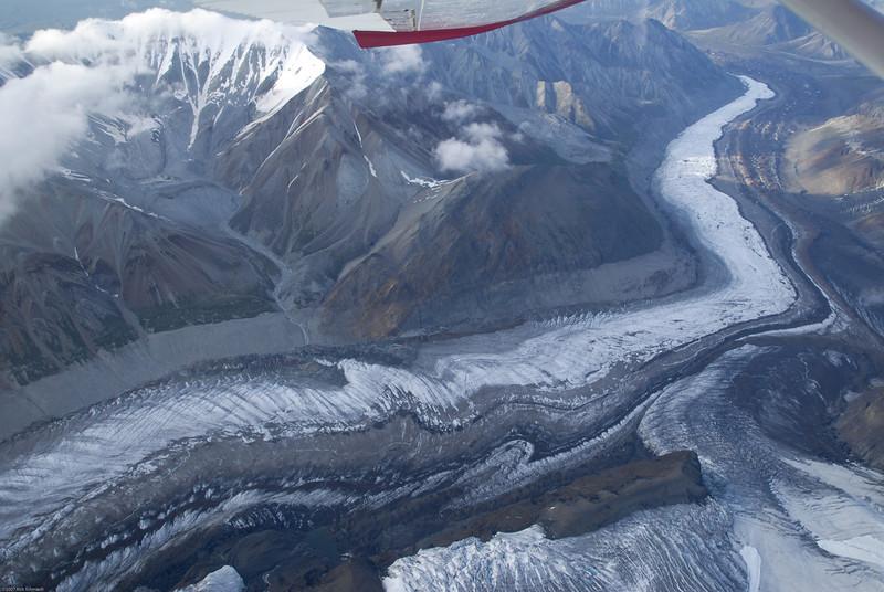 Denali glacial morraine.