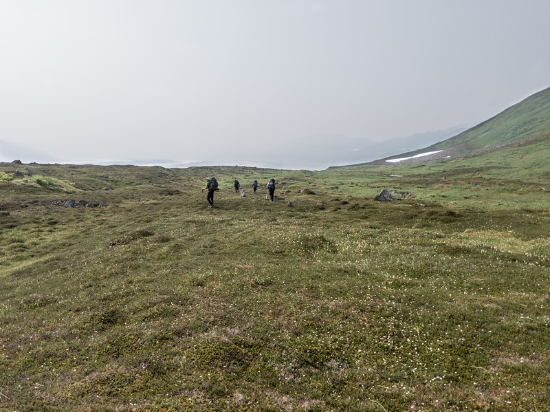 Setting out toward Valley 1