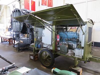 Zoeklicht installatie voor FlaK 36