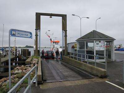 Veerpont naar Hjarnø