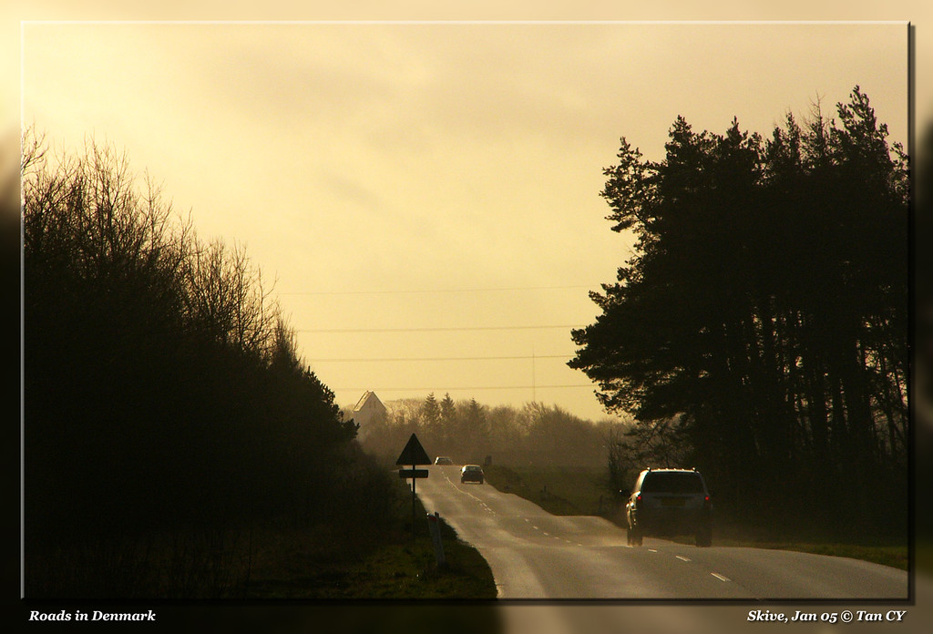 Roads in Denmark