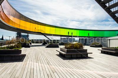 """Your Rainbow Panorama"" on the ARoS Aarhus Kunstmuseum"