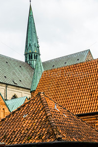 Roofs in Ribe