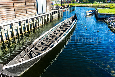 Viking Longboat at the Viking Ship Museum