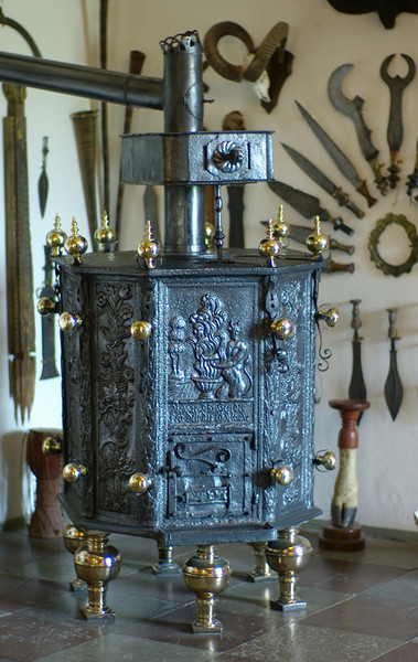 Stoves don't get more ornate than this.......