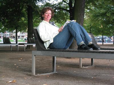 Resting in Lustgarten