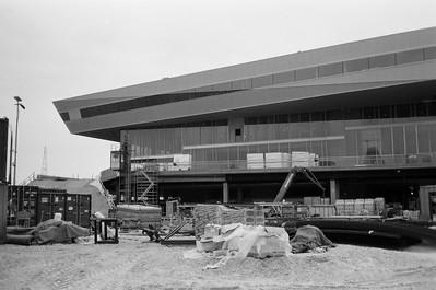 Future site of DOKK1 in Aarhus