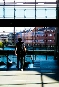The Black Diamond at the Royal Danish Library in Copenhagen