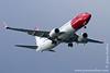 Norwegian Aircraft Approaching Copenhagen Airport