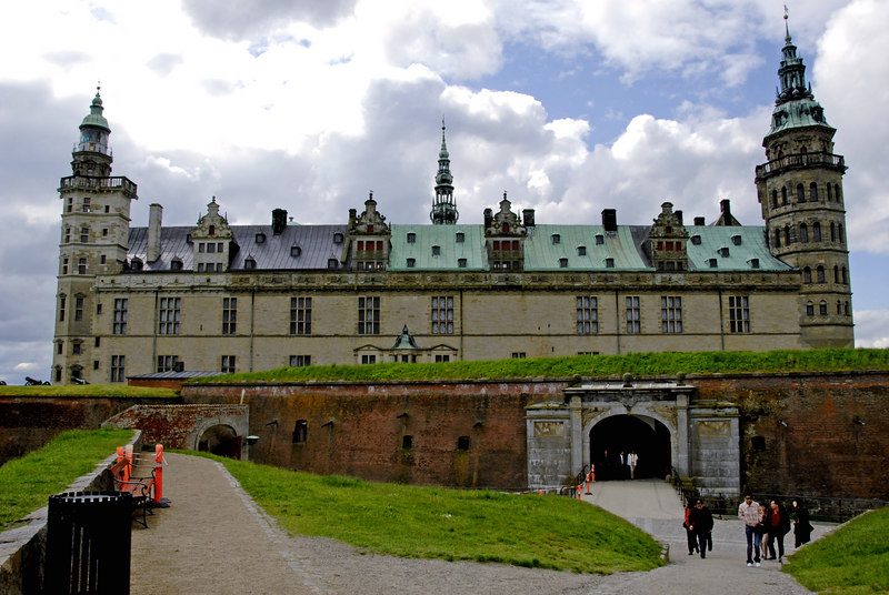 Helsingor Castle, or as the non-Danes refer to it - Hamlet's Castle.