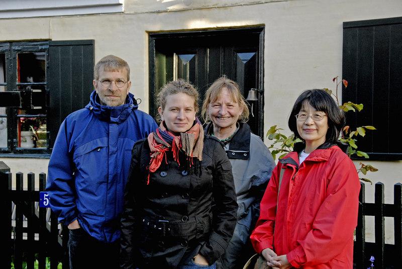 Bruce, Signe, Lisbeth and Izumi