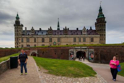 Kronborg Castle in Helsingør