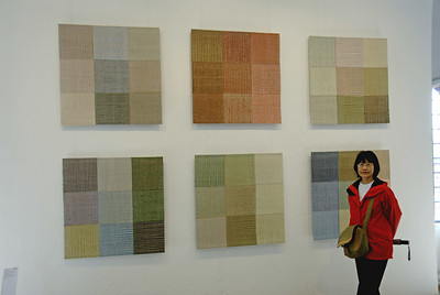 Textile Art Display