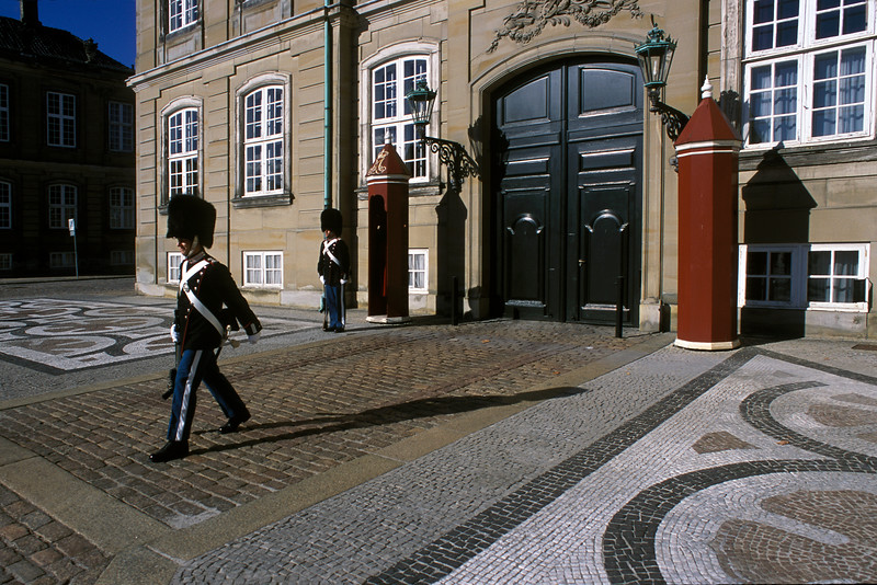 Changing of the Guard, Amalienborg Palace, Copenhagen