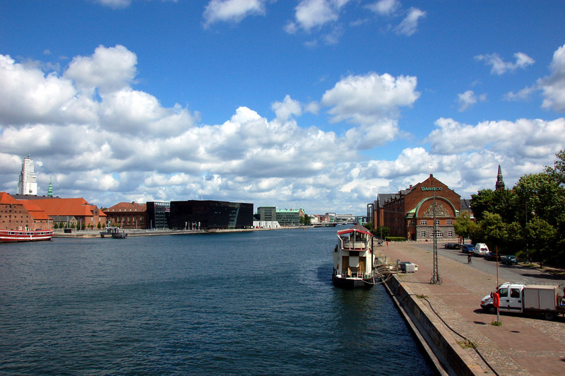 Walking tour of Copenhagen<br /> <br /> A view from one of the bridges over the canals