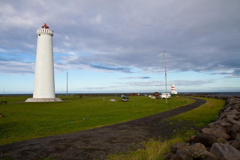 Campground at Garðskagi