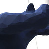 The giant blue bear outside the Denver convention center.  Made for an easy-to-find meeting place.