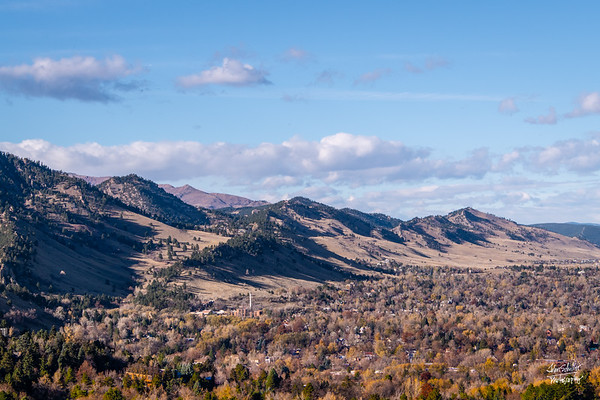 Shot from Chatauqua Park, Boulder, CO on November 1, 2018