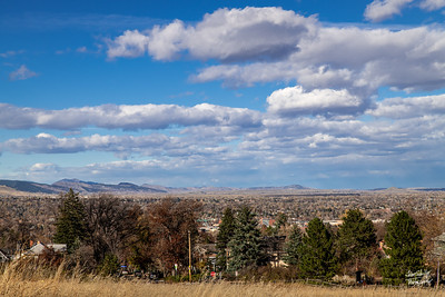 Looking north.  Shot on November 1, 2018 from Chatauqua Park, Boulder, CO.  ©John Schiller Photography,