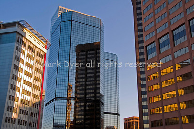 Denver centre at dawn