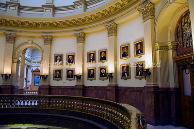 Denver Capitol Presidents gallery