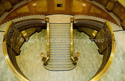 Denver Capitol stairwell