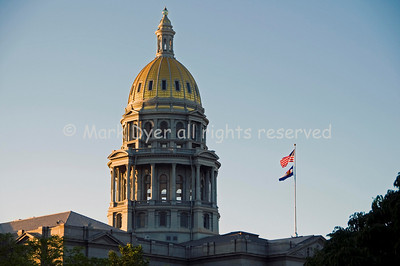 Denver Capitol at dawn