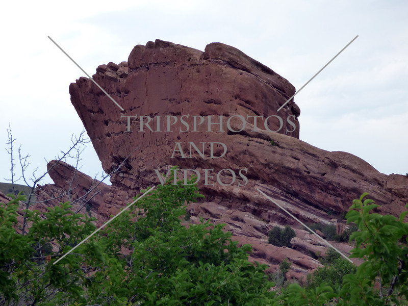 The Red Rocks Park in Denver, Colorado.
