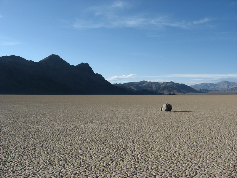 death valley, the racetrack