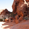 Deric on trail at Valley of Fire