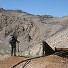 A diversion, and refreshing climb, to some mining ruins while at the Racetrack, Death Valley