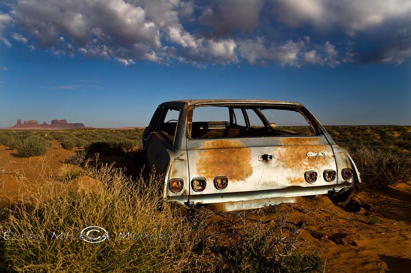 Forgotten Metal in the Desert - Navajo Reservation, Arizona