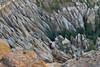 Aerial View of Tent Rocks - New Mexico